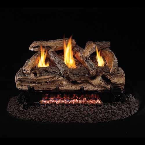 Real Fyre g9 Vent Free Burner W/ Split Oak Logs