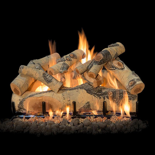 "Quaking Aspen Vented Gas 30"" Log Set"