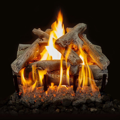 "Western Driftwood Vented Natural Gas 18"" Log Set"