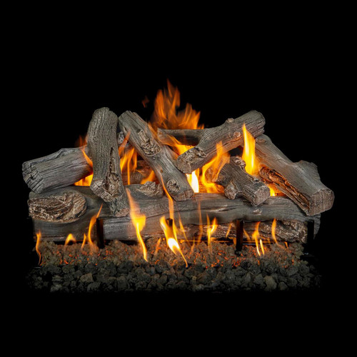 "Western Driftwood Vented Natural Gas 30"" Log Set"