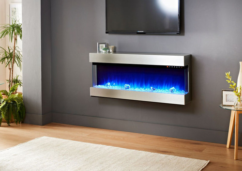 Evolution Fires Empire # Sided Electric Fireplace