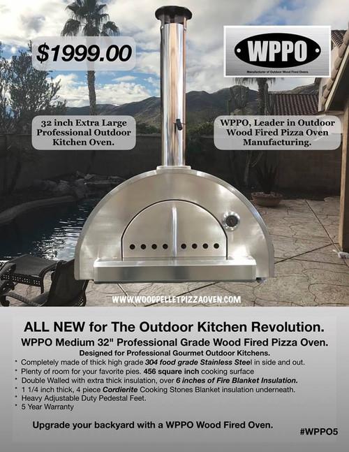 """Wppo 32"""" Pizza Oven"""