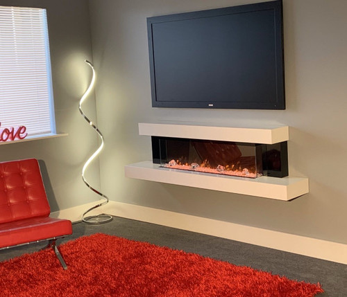 Evolution Fires Alpha Wall Mount Electric Fireplace