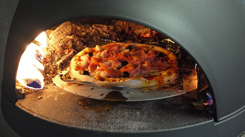 Invicta Lo Cigalou on legs - Outdoor Wood Pizza Oven