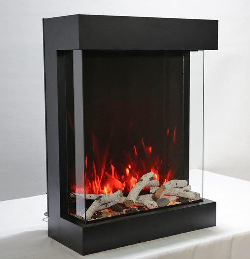 Amantii CUBE 2025WM Electric Fireplace – Indoor / Outdoor
