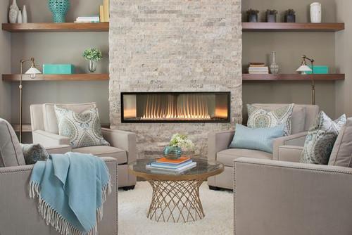 "Boulevard 48"" Vent Free Gas Fireplace"