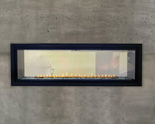 Boulevard 48 See Through Linear Vent Free Gas Fireplace