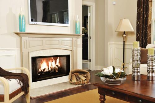 """Majestic Royalton 36"""" Wood Burning Fireplace"""