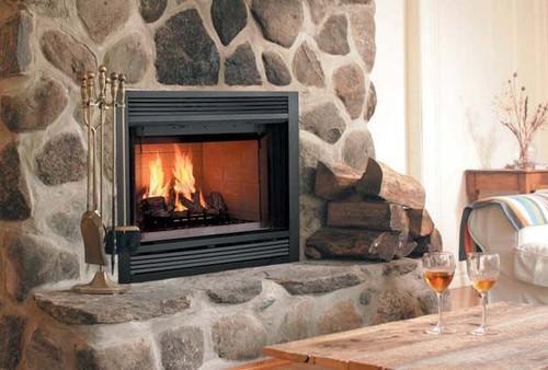 Majestic Sovereign Heat Circulating Wood Burning Fireplace