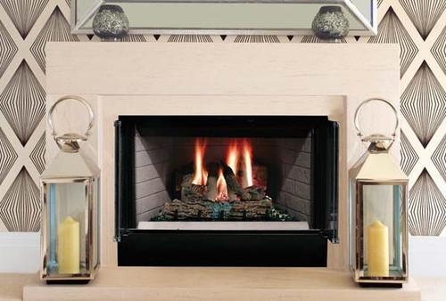 Majestic Sovereign  36  Radiant Wood Burning Fireplace