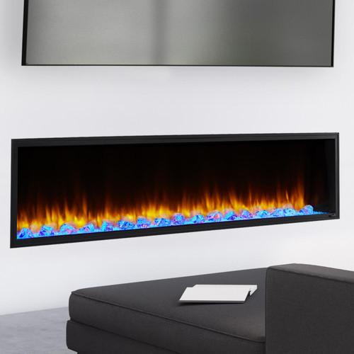 """SimpliFire Scion 78"""" Electric Fireplace"""