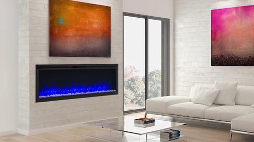 Simplifire Allusion Platinum Electric Fireplaces
