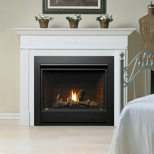 """Kingsman 36"""" Direct Vent Gas Fireplace Package"""
