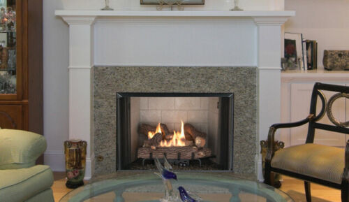 """Superior VRT2536WS 36"""" Vent Free Gas Fireplace With Crescent Hill Gas Log  Package Deal"""