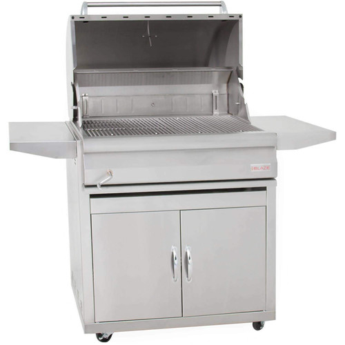 Blaze Charcoal Grill On Cart