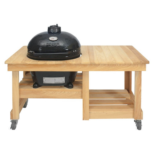 Primo Oval 300 On Cypress Counter Top Table