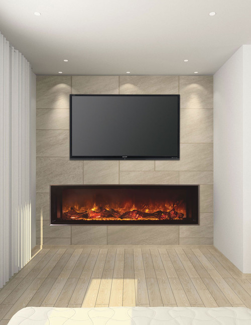 "MODERN FLAMES LANDSCAPE 60"" ELECTRIC FIREPLACE"