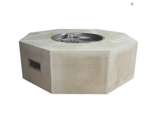 """HPC 54"""" Octagon, 54"""" x 18h"""" Unfinished Fire Pit Enclosure -"""