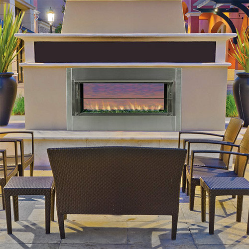 Enjoyable Superior Linear Outdoor Gas Fireplace Vre 4543 Single Sided Or Seethru Download Free Architecture Designs Embacsunscenecom