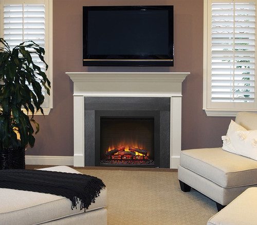 Simplifire Built InTraditional Electric Fireplace