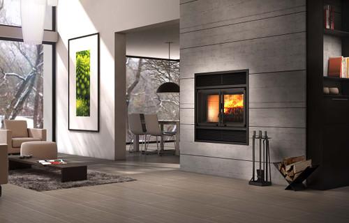 Valcourt Beaumont Wood Burning Fireplace