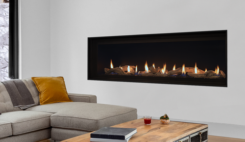 """Superior drl4072 72"""" Linear Gas Fireplace"""
