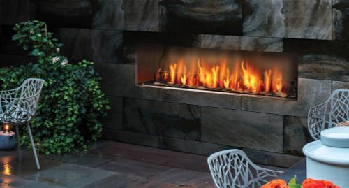 "Barbara Jean 36"" Linear Outdoor Gas Fireplace"