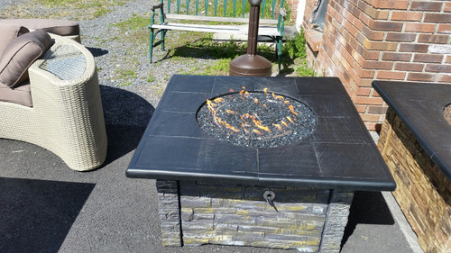 HUDSON RIVER STOVE WORKS LP GAS FIREPIT