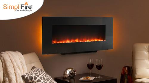 Majestic 58 Simplifire Linear Wall Mount Electric Fireplace