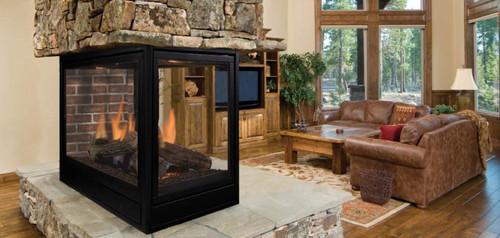 Majestic Designer Series See Thru Wood Burning Fireplace 42
