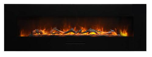 Amantii WM-FM-60-7023-BG Electric Fireplace