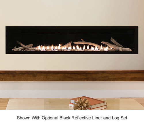 Boulevard 72 Quot Vent Free Linear Contemporary Gas Fireplace