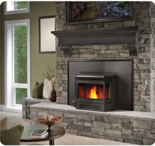 NPI 45 NAPOLEON PELLET BURNING FIREPLACE INSERT