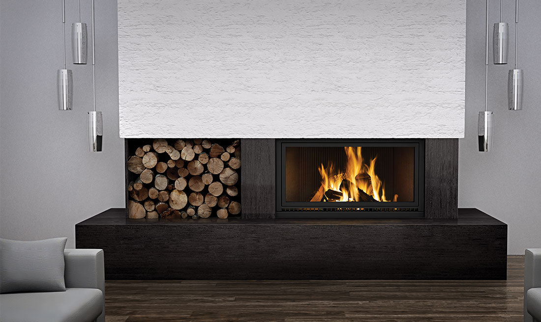 Napoleon High Country 7000 Linear Wood Burning Fireplace