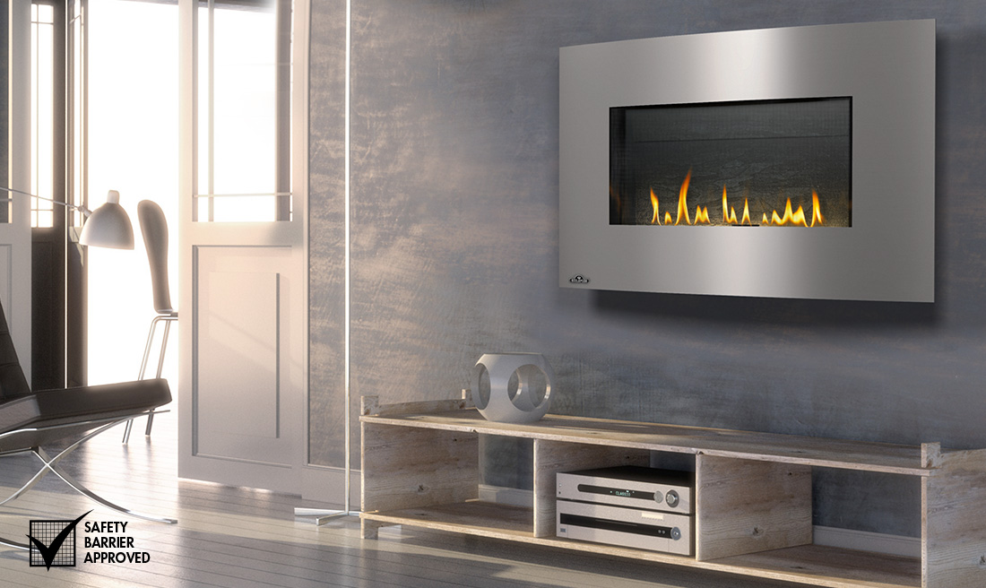 Napoleon Whd31 Plazmafire Wall Hanging Gas Fireplace
