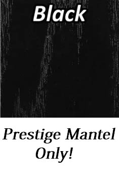 black - prestige mantel