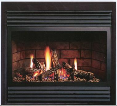 Kingsman Zdv3318 Zero Clearance Direct Vent Gas Fireplace
