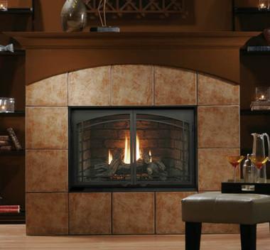 Kingsman Hb4224 Zero Clearance Direct Vent Gas Fireplace