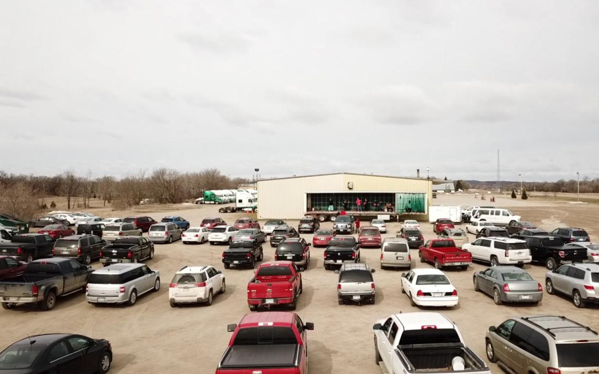 How Drive In Church Services turn parking lots into Places of Worship