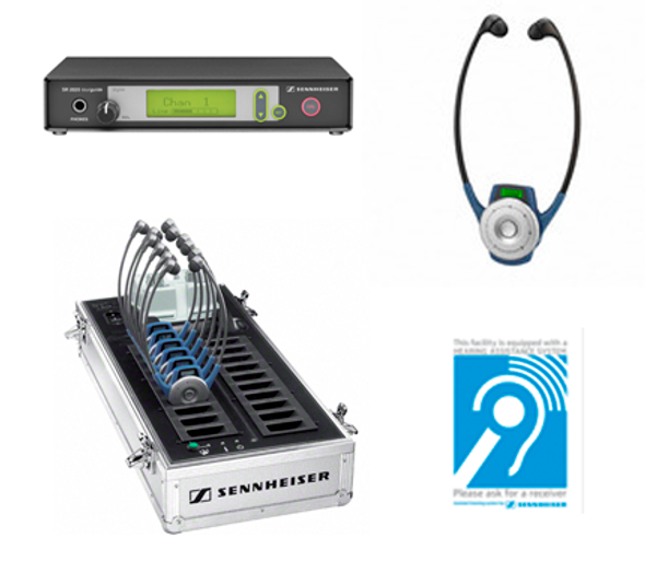 Sennheiser 2020 10-Person Assistive Listening System