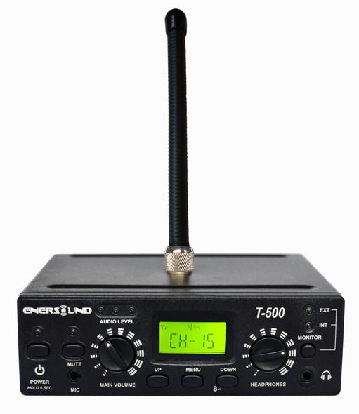 Enersound T-500 FM Multi-Channel Assistive Listening Transmitter 72-76 MHz (Limited Lifetime Warranty)