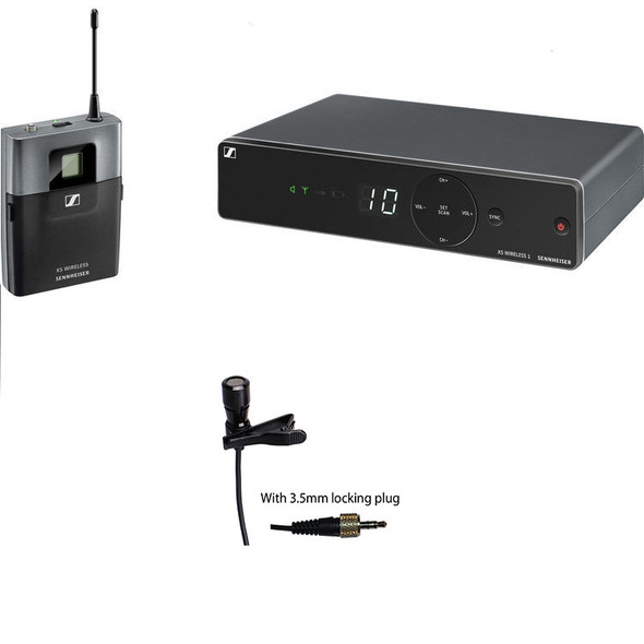 Sennheiser XSW 1-Cl1 wireless lavalier microphone/instrument bundle (w/LAV-100SEN)