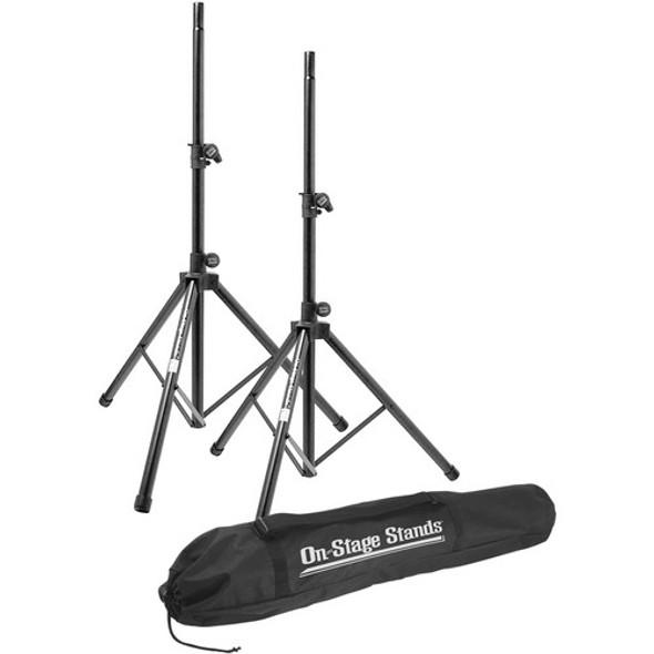 On-Stage SSP7900 All-Aluminum Speaker Stand Pak