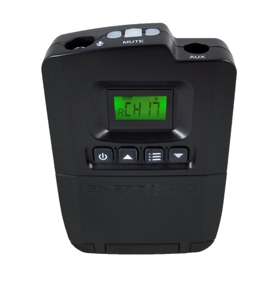 TP-600-4 Enersound 4-Channel Portable Transmitter (3-year limited warranty)