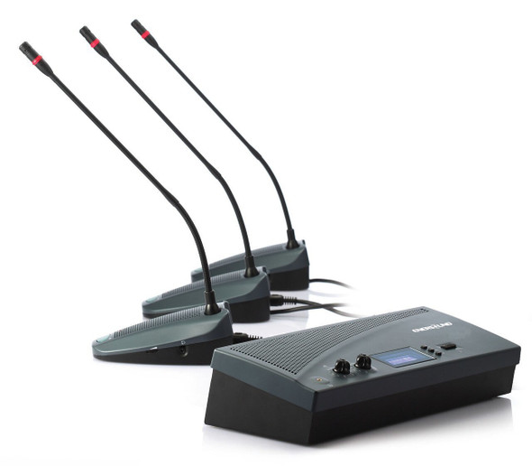 6-Person Teleconference Microphone System Enersound CS-300-6USB
