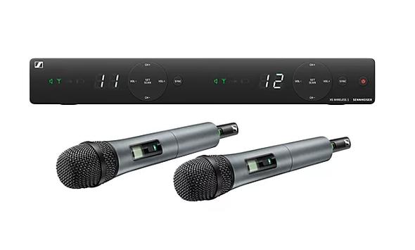 Sennheiser XSW 1-825 DUAL-A Two Channel Handheld Wireless System