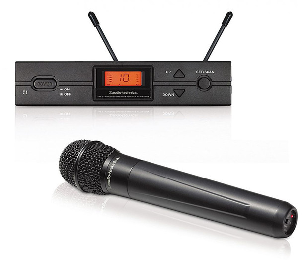AudioTechnica Series 2000 Handheld Wireless Microphone System Band I  (487.125 - 506.500MHz)