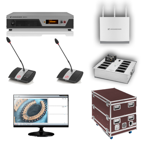 Sennheiser 10-Person Wireless Conference System