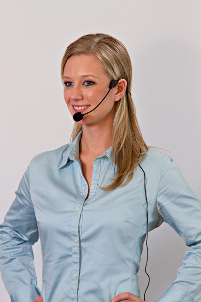Headset Microphone for Shure Wireless Lavalier System