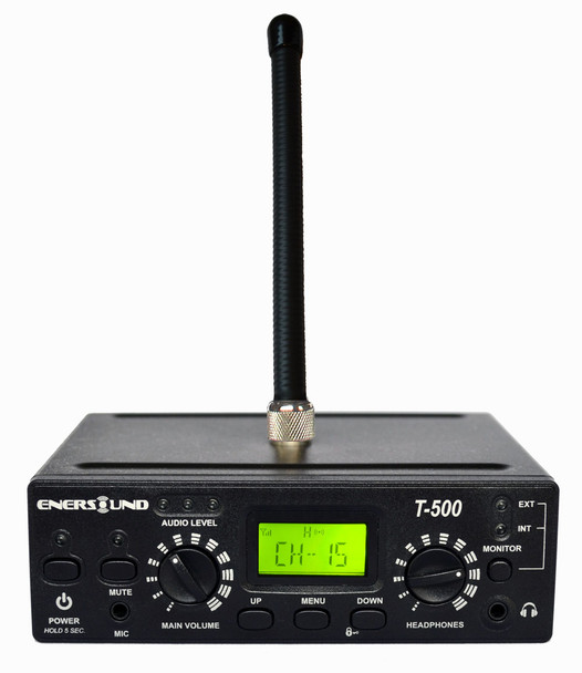 Enersound T-500 FM Multi-Channel Assistive Listening Transmitter 72-76 MHz (Limited Lifetime Warranty)